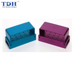 Dental Exposed Type 15 Holes Bur Disinfection Box Tdh-Bdb01 pictures & photos