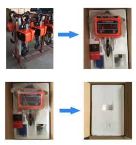 Wireless Auto Battery Capacity Display Hanging Crane Scale pictures & photos