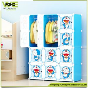 Storage Portable Home Furniture Bedroom Kids Plastic Wardrobe pictures & photos