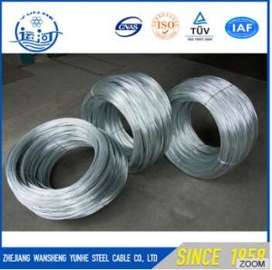 High Carbon Z2 Spool Galvanized Steel Wire Price pictures & photos