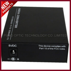 Fiber Optic 10/100/1000 Base TX to 1000 Base FX Media Converter pictures & photos