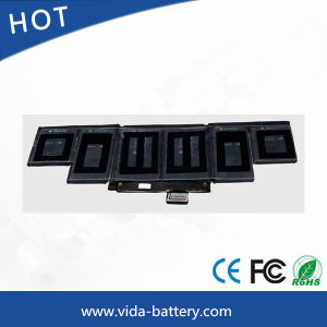 Replacement Battery Laptop Battery for Apple 15 A1398 Me293 Me294 A1494 Me665 pictures & photos