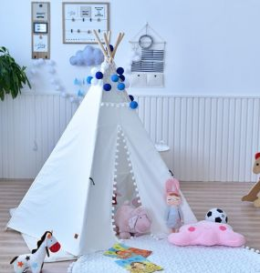 Kids Teepee Indian Tent Tipi Tunnel Wigwam Teepees pictures & photos