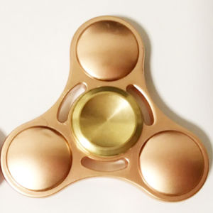 EDC Gyro Stress Toys Metal Brass Gyroscope Finger Spinner pictures & photos