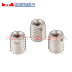 Threaded Insert 307, 308 Series with Cutting Bores pictures & photos