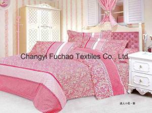100% Cotton Bedding Set for Hotel Use Queen Size pictures & photos