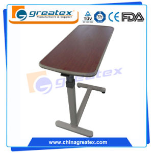 Gas Spring Riging Hospital Overbed Table (OT002) pictures & photos