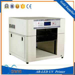 Digital UV Bottle Printer A3 Size High Print Height UV Candle Printing Machine pictures & photos