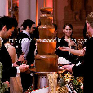 High Quality 5 Layers Chocolate Fountain Machine for Wholesale pictures & photos