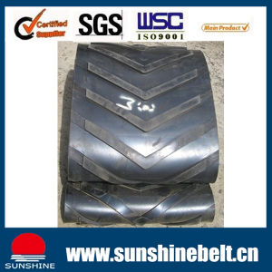 General Use Pattern Ep Conveyor Belt for Sand, Grain pictures & photos