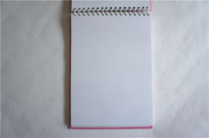 Wholesale Blank Journals Custom Hardcover Spiral Bound Notebook Notepad pictures & photos