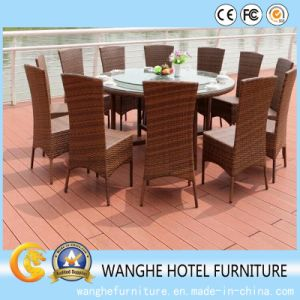 Chinese Outdoor Dining Room Rattan Furniture Set pictures & photos