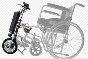 12 Inch Electric Attachable Wheelchair Handcycle Motor Kit pictures & photos