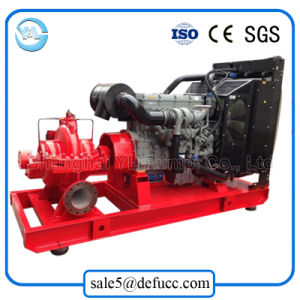 Tpow High Pressure Double Suction Split Casing Diesel Fire Pump pictures & photos
