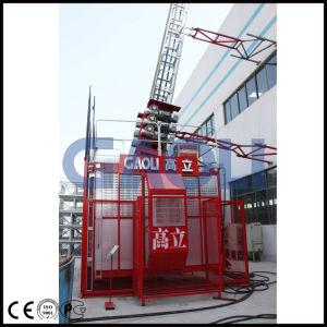 Gaoli Middle Speed Lean Construction Hoist Scq200/200 pictures & photos