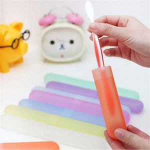 Portable Toothbrush Holder Protect Cover Case Travel Hiking Camping Brush Box pictures & photos