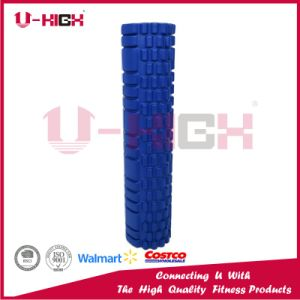 High Density Textured EVA Injection Foam Rollers Grid Yoga Muscle Massage Roller pictures & photos