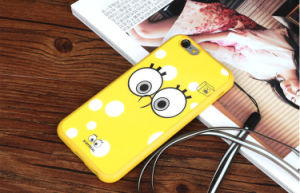 Spongebob Cartoon TPU Mobile Phone Case for iPhone pictures & photos