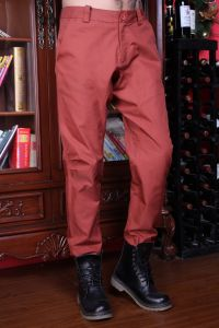 Stock Fashion Cotton Mens Trousers pictures & photos