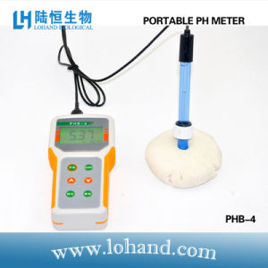 Portable pH Meter with Automatic Calibration in Low Price (PHB-4) pictures & photos
