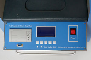 Manufacturer Portable New Type Online Automatic Transformer Oil Bdv Tester pictures & photos