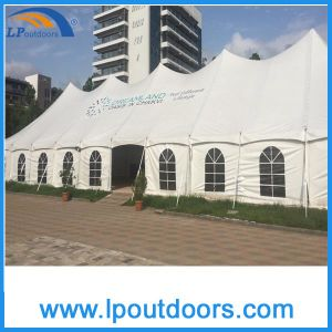 12X36m Outdoor Steel Frame High Peak Marquee Peg Pole Tent for Wedding pictures & photos