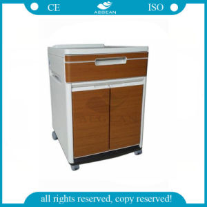 AG-Bc025 with Wheel One Drawer Sturdy and Durable Hospital Beside Cabinet pictures & photos