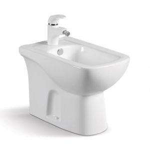 China New Design Ceramic Floor Mounted Toilet Bidet pictures & photos