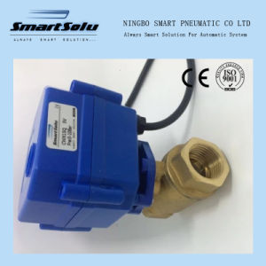 Solenoid Valve Cwx Brass Ball Valve Two Way /Three Ways pictures & photos