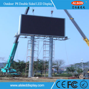 Advertising Outdoor P8 Full Color LED Video Wall for Building Wall pictures & photos