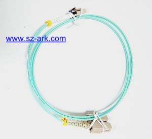 Mini LC-Sc Duplex Optical Fiber Patch Cord pictures & photos