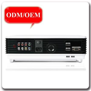 New 1080P HD Portable LED 96 Plus 3D 3000 Lumens Home Theater Support 3D WiFi Projector pictures & photos