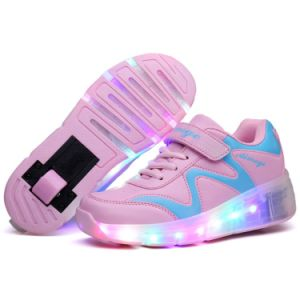 Newest Kids Single Roller Skate Shoes in 2017 pictures & photos