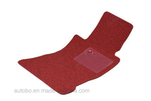Car Mat Flat Foot Loop Pile PP Fiber Carpet Pink pictures & photos