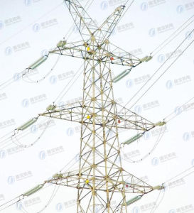 HDG Steel Electrical Transmission Power Tower pictures & photos