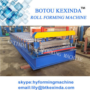 1000 High Speed Roof Panel Steel Roll Forming Machine pictures & photos