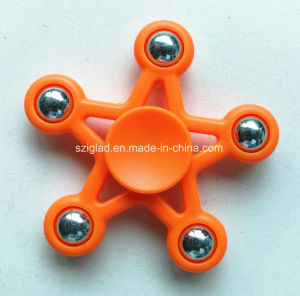 Plastic with Metal Ball Hand Fidget Spinner pictures & photos