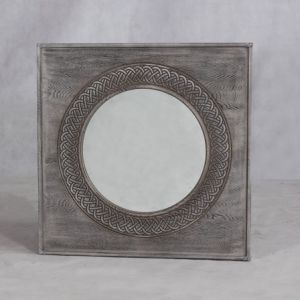 Round Wooden Mirror Frame with High Quality pictures & photos