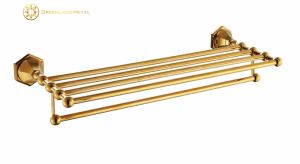 Brass Hotel Bathroom Rack & Bathroom Towel Rack pictures & photos