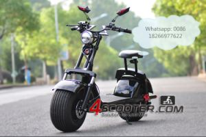 2017 Electric Citycoco Scooter Lithium 60V, 40km Vehicle with Powerful Motor 1000W pictures & photos