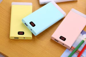 10000 Portable Charger Power Bank LED Light with Digal Display pictures & photos