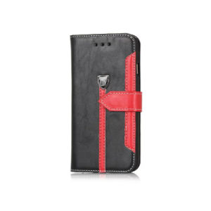 Leather Flip Cell Phone Case for iPhone 5s pictures & photos