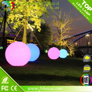 LED Ball Light Outdoor / Glow in The Dark Plastic Ball pictures & photos