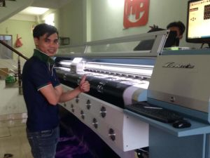 Challenger Infiniti Fy3208t 3.2m Large Format Solvent Digital Plotter with 4 or 8 Spt510 50pl Heads pictures & photos