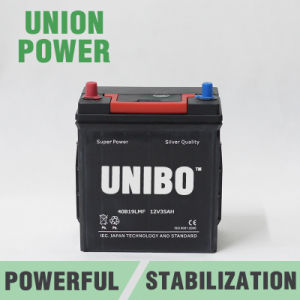 Auto Battery 40b19L Mf JIS 12V35ah High Performance Car Battery pictures & photos