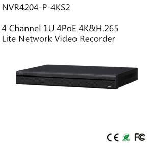 4 Channel 1u 4poe 4k&H. 265 Lite Network Video Recorder (NVR4204-P-4KS2) pictures & photos