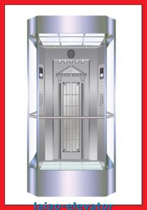 Safety Glass Semi-Circle Sightseeing Elevator Observation Lift pictures & photos