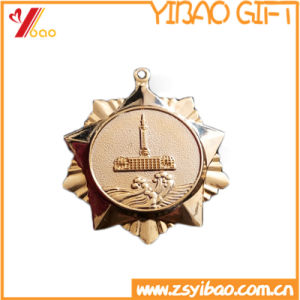 Plating Metal of Medallion of Coin Custom Logo Souvenir Promotion Gift (YB-HR-33) pictures & photos