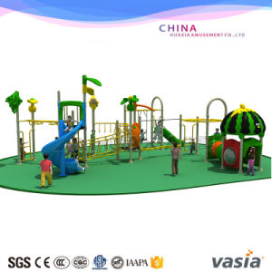 Vasia New Promotion Colorful Amusement Park Outdoor Playground pictures & photos