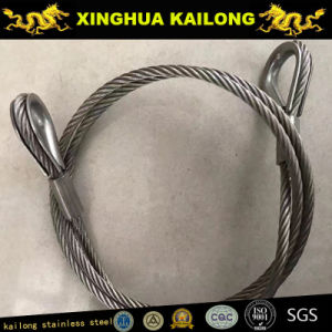 Stainless Steel Wire Rope 304-1X7-0.45 pictures & photos